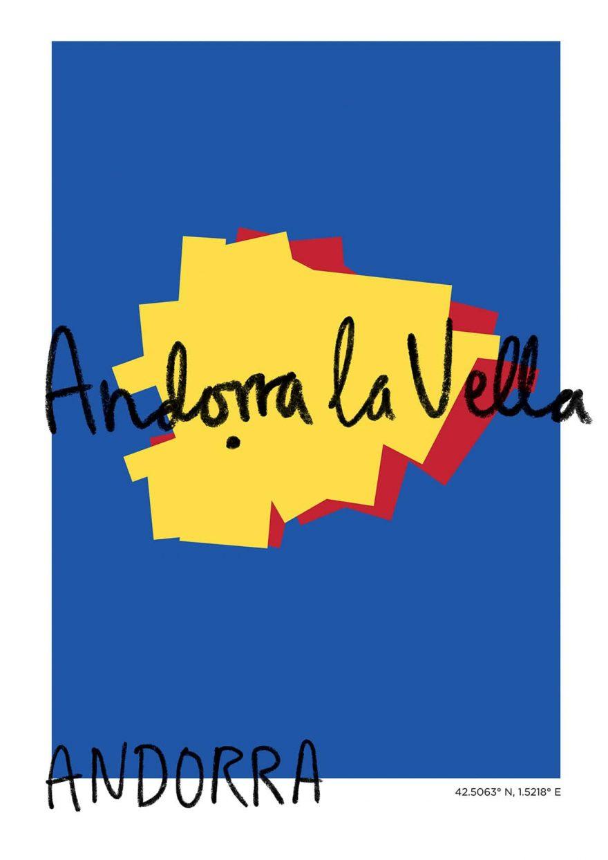 Andorra La Vella Map