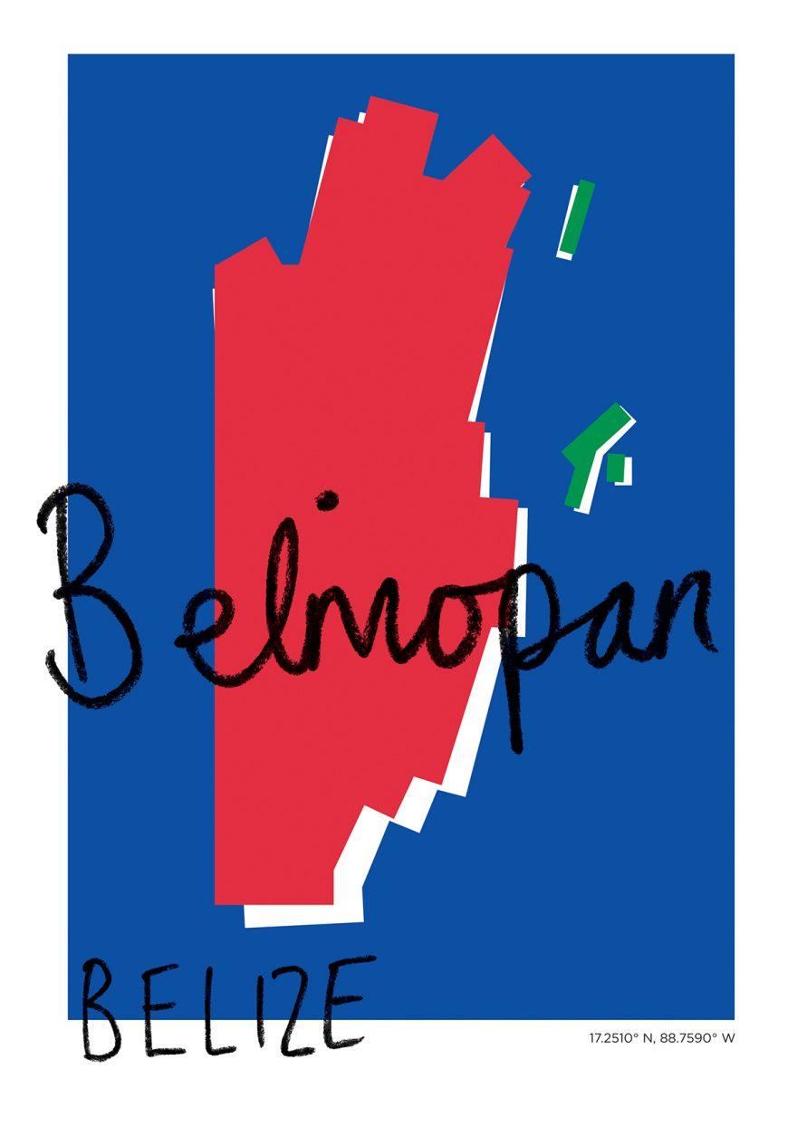Belmopan Map