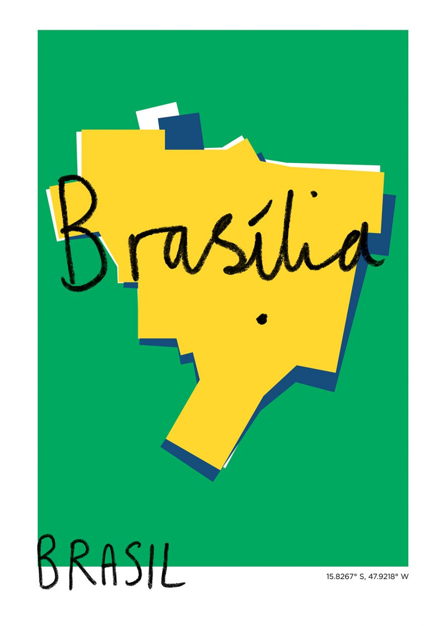 Brasília Map