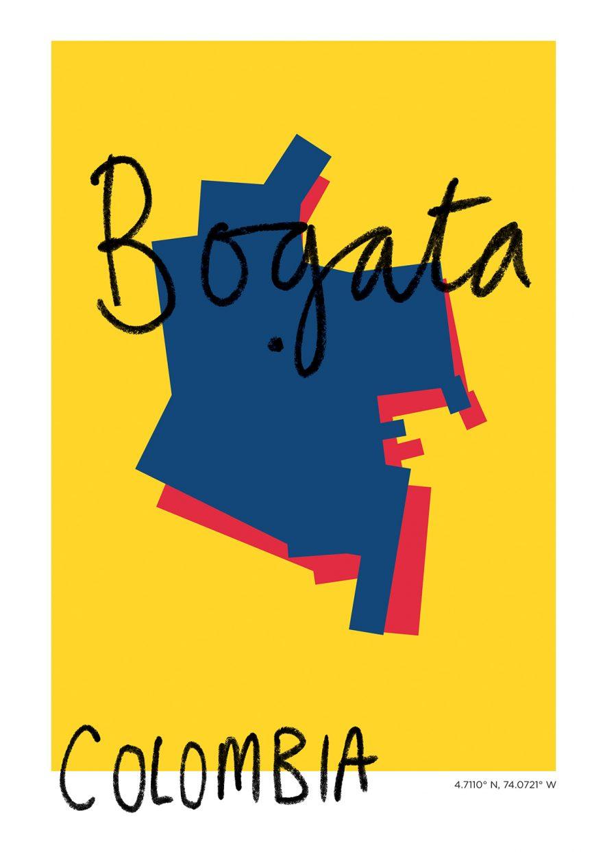 Bogata Map