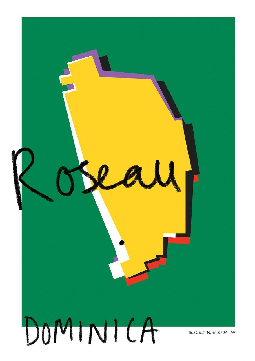 Roseau Map