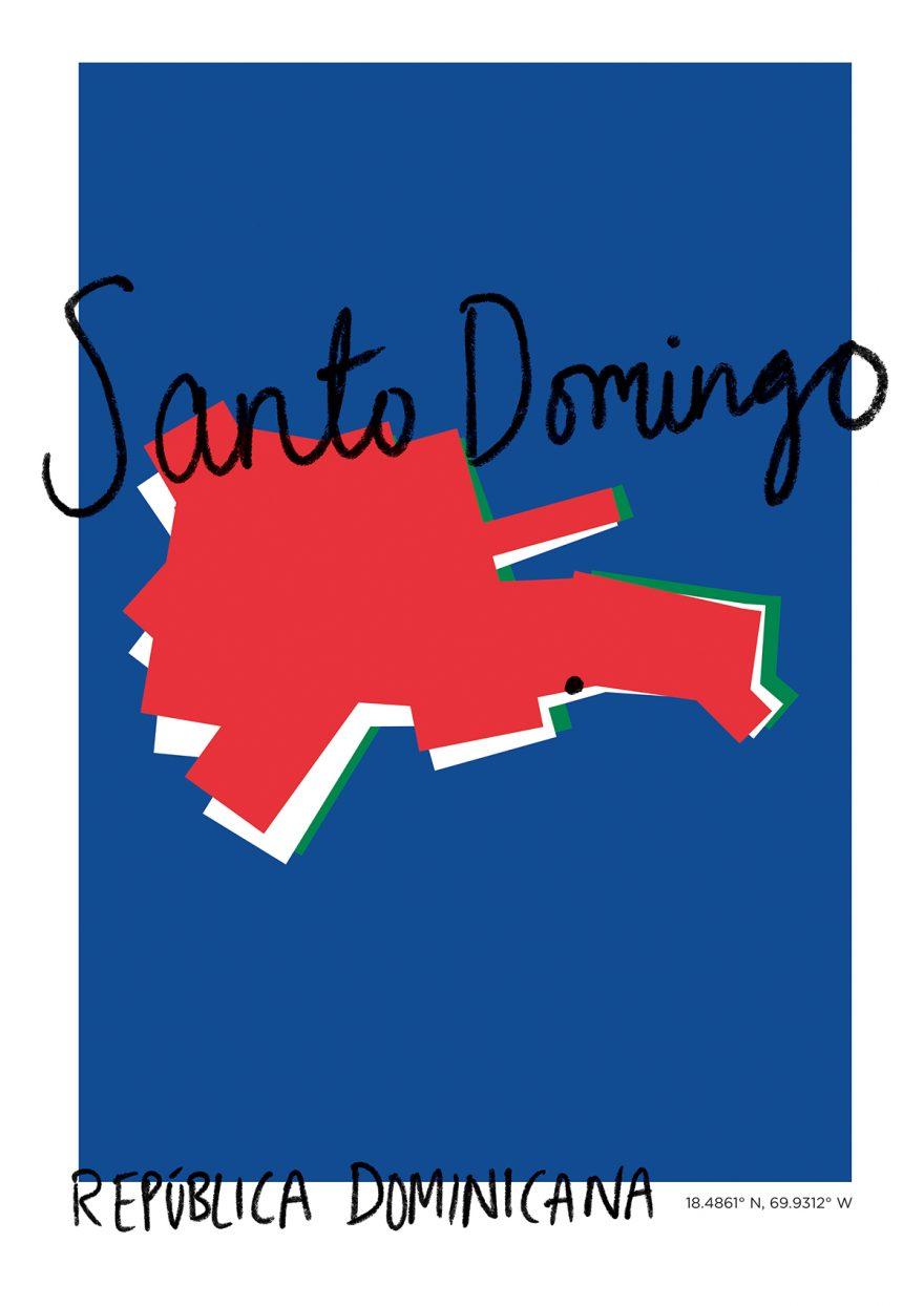 Santo Domingo Map