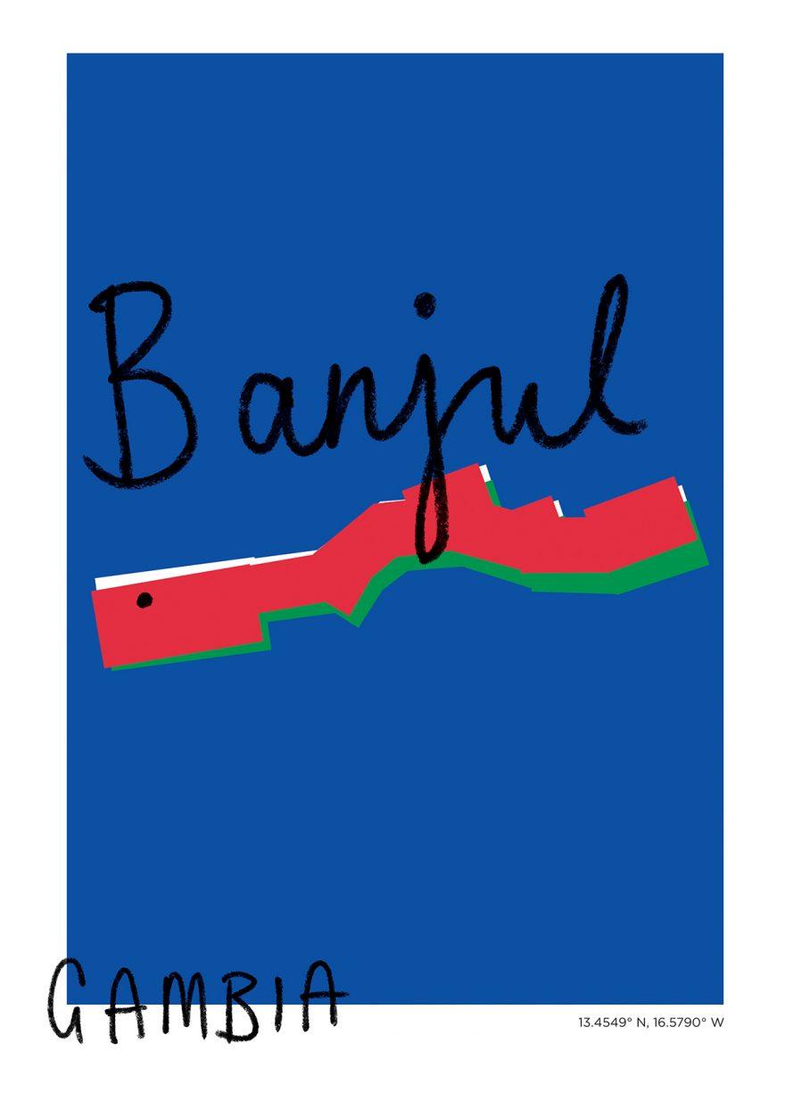 Banjul Map