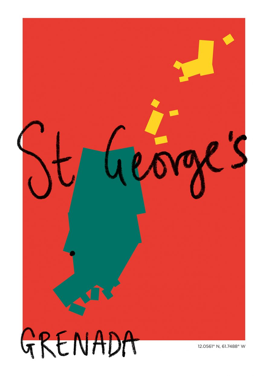St George's Map