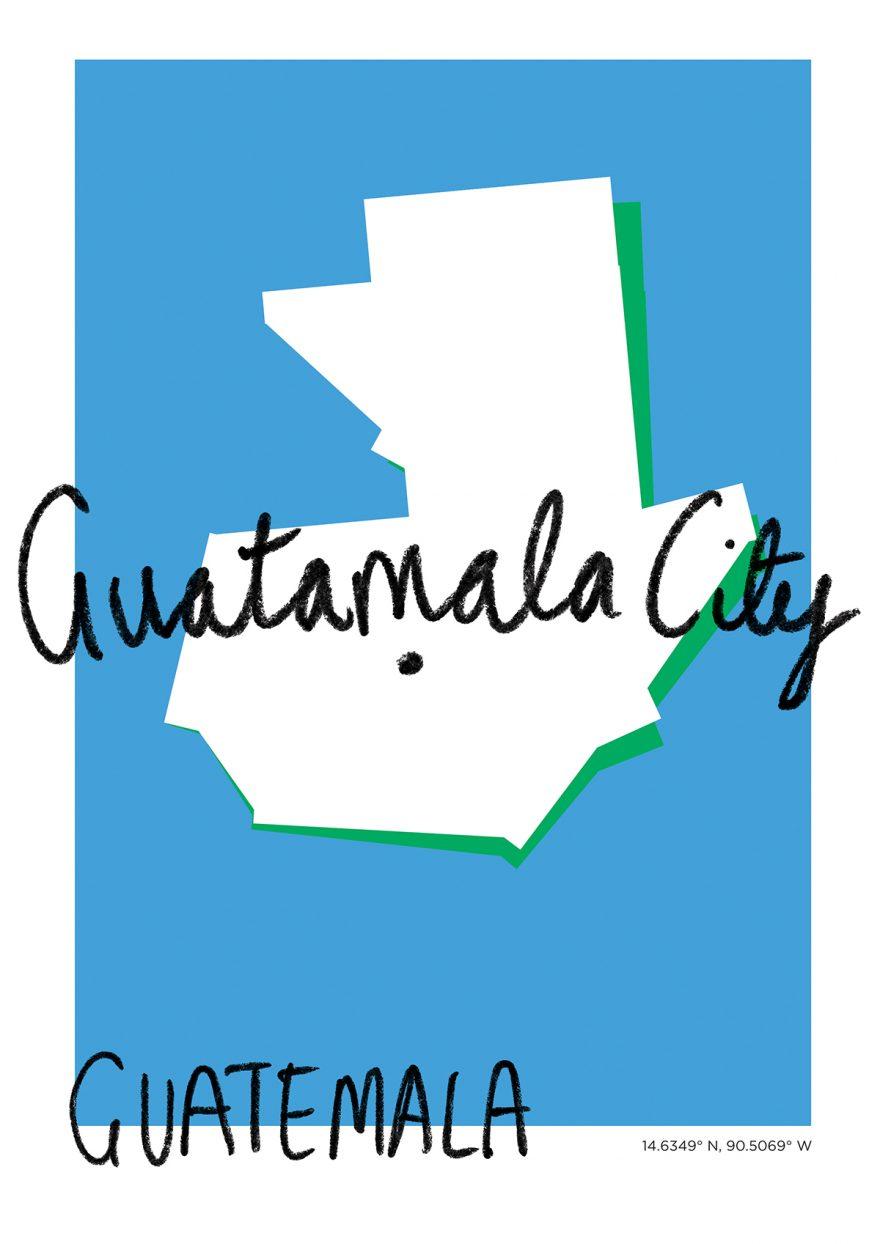 Guatamala City Map