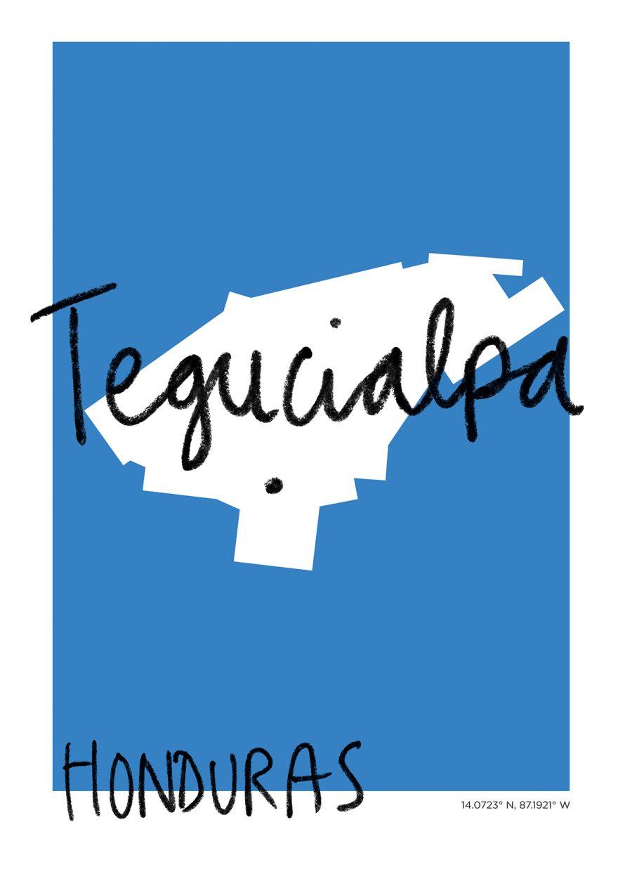 Tegucialpa Map