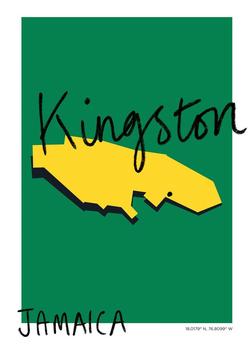Kingston Map