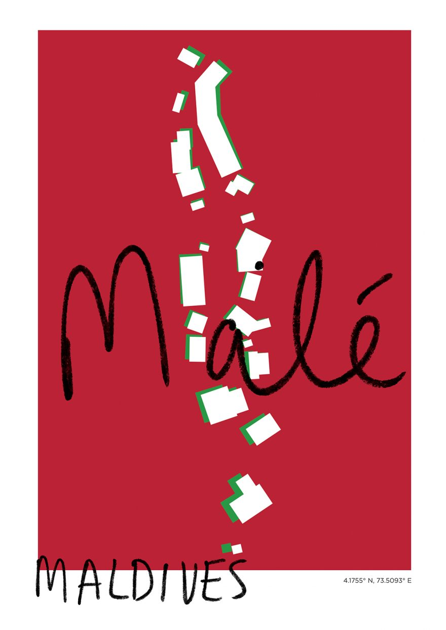 Malé Map