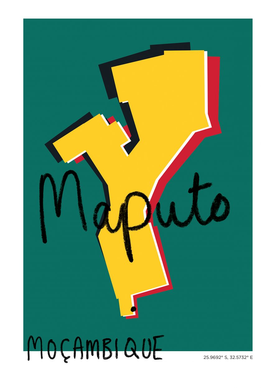 Maputo Map