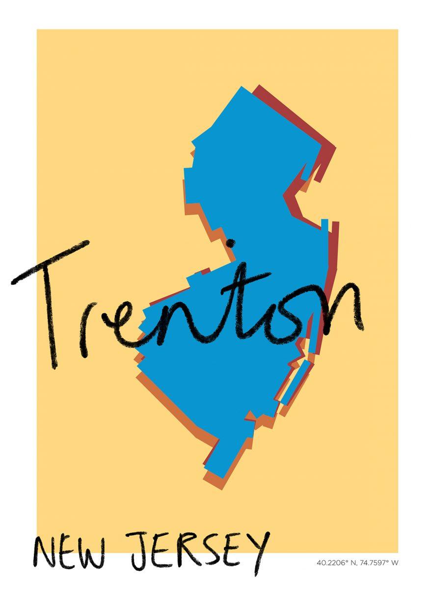 Trenton Map