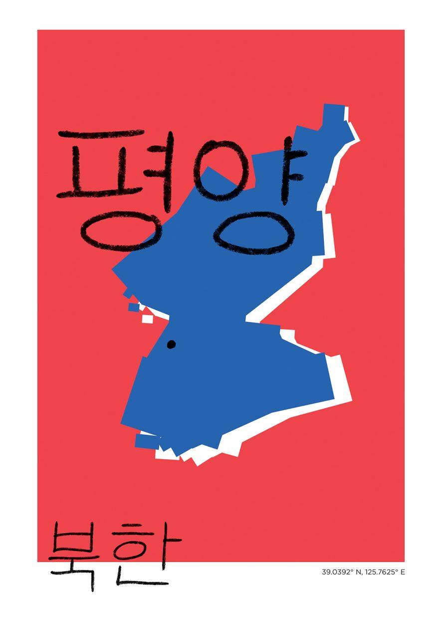 Pyongyang Map