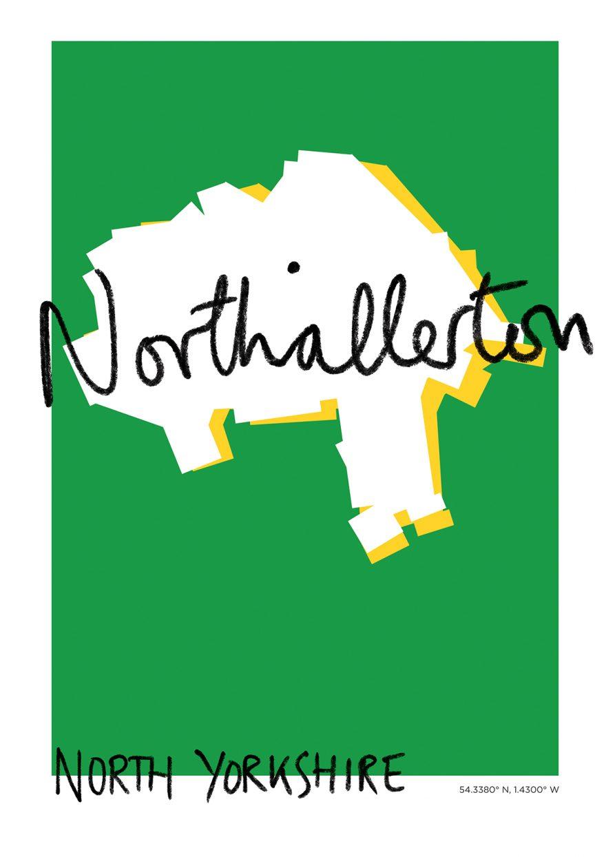 Northallerton Map