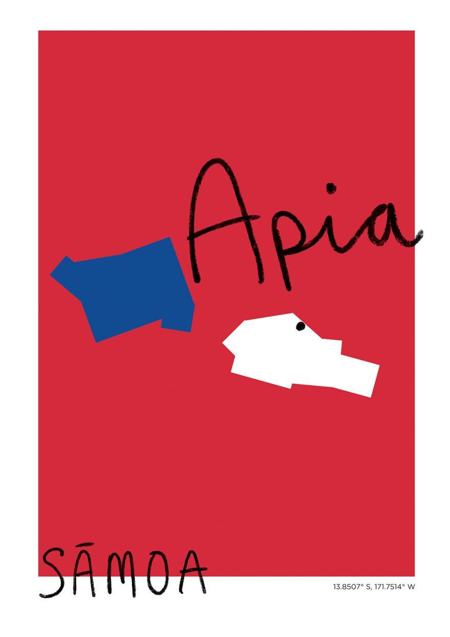Apia Map