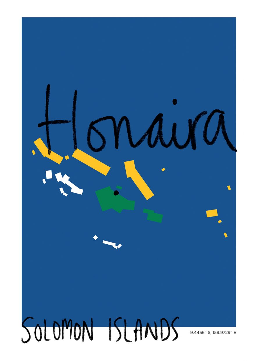 Honaira Map