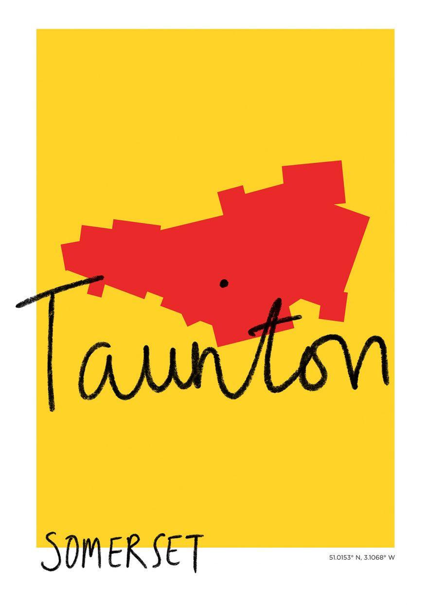 Taunton Map