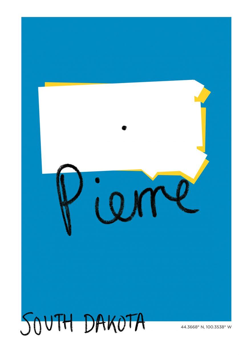 Pierre Map