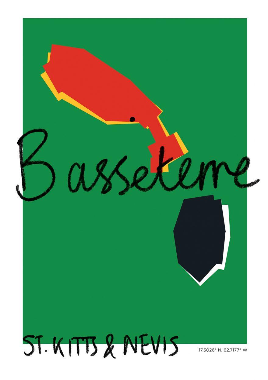 Basseterre Map