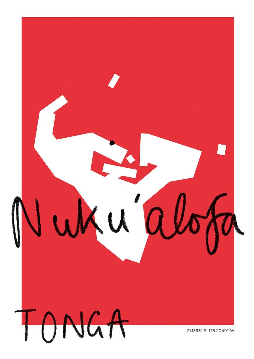 Nuku'alofa Map
