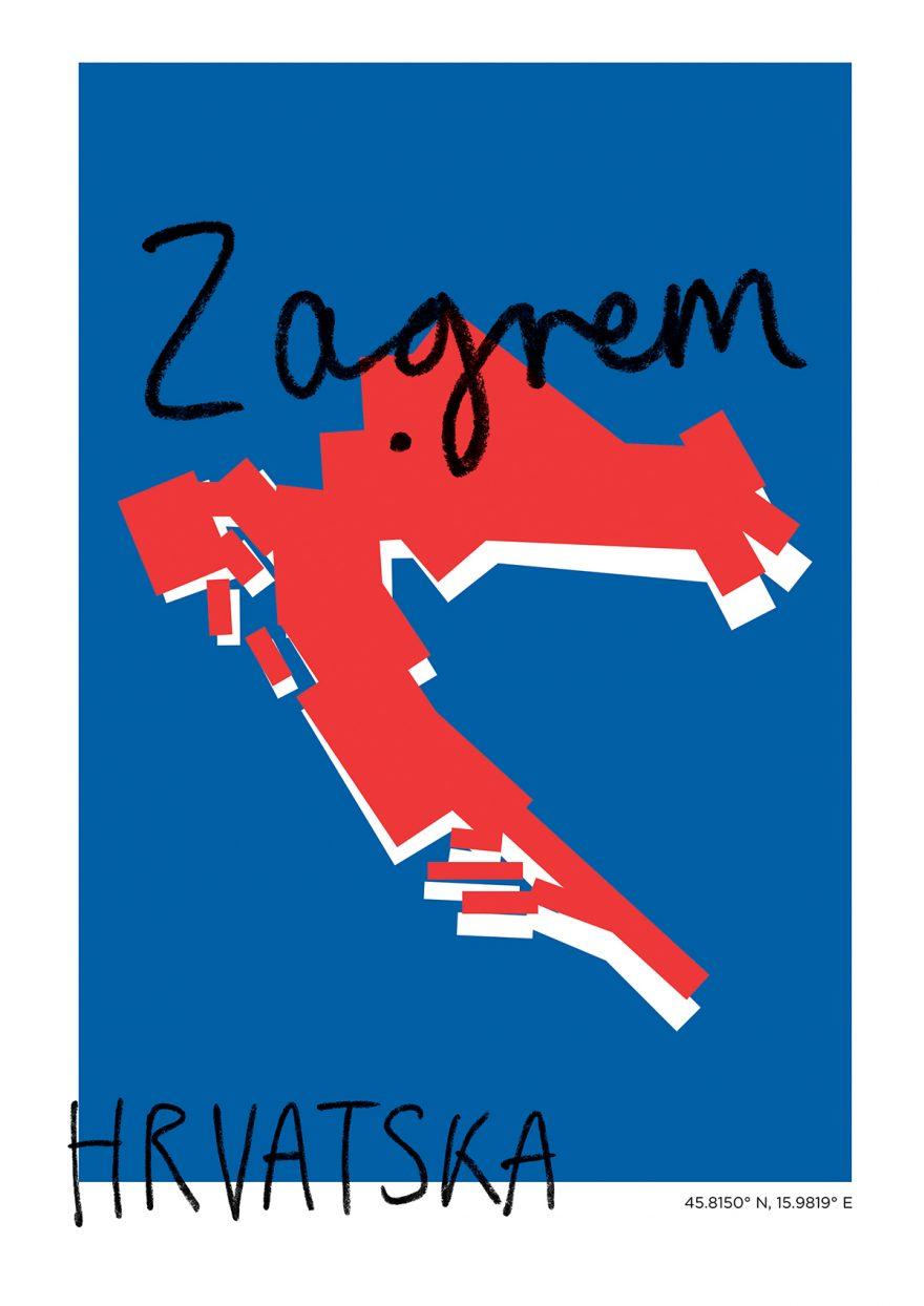 Zagrem Map