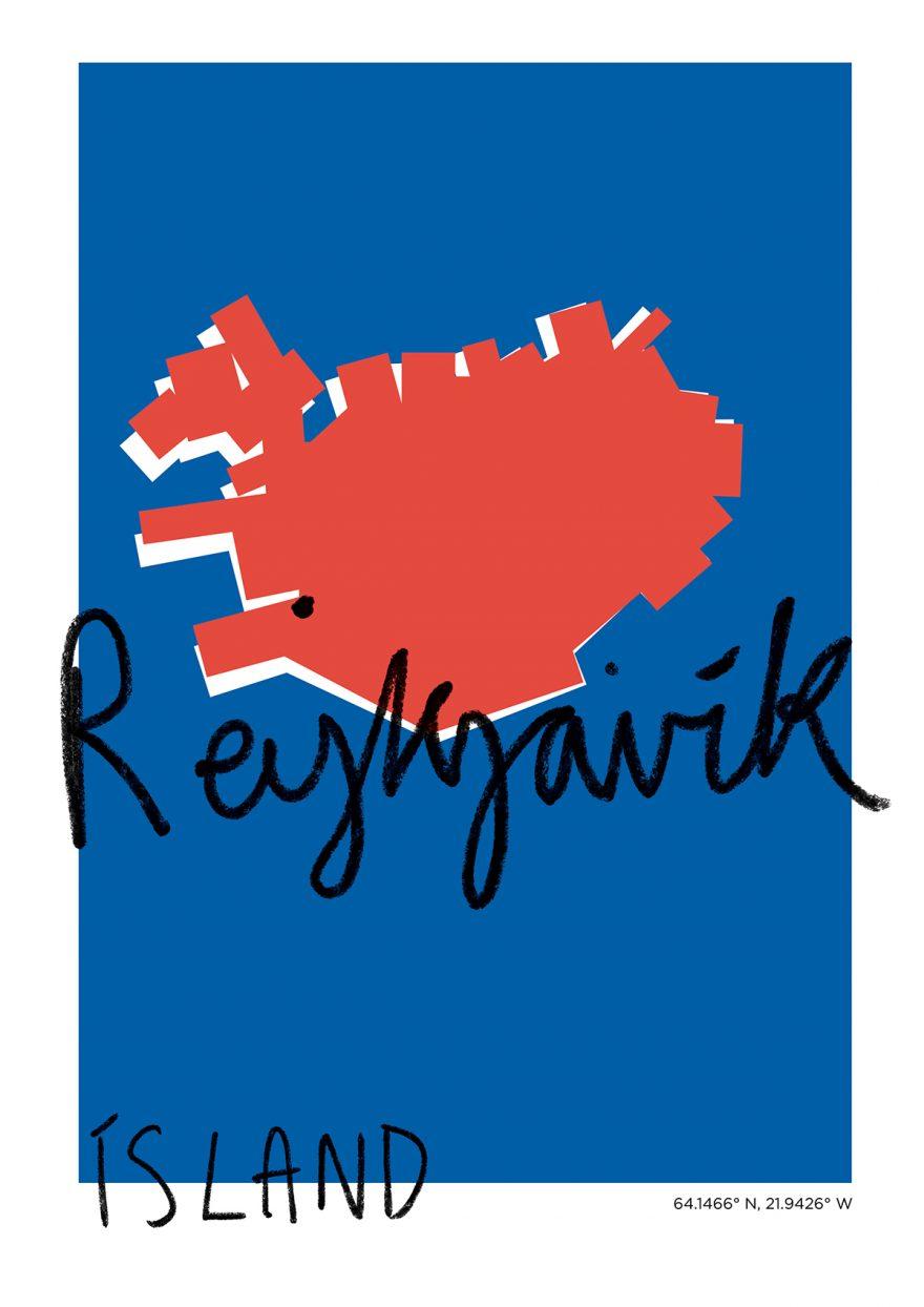 Rekjavik Map