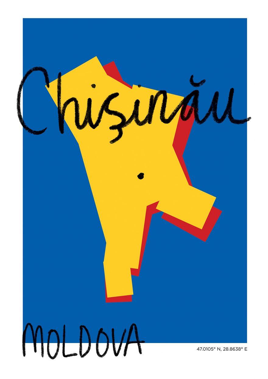 Chisinau Map