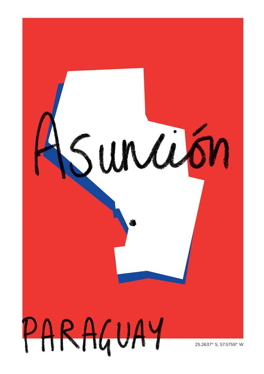 Asunción Map