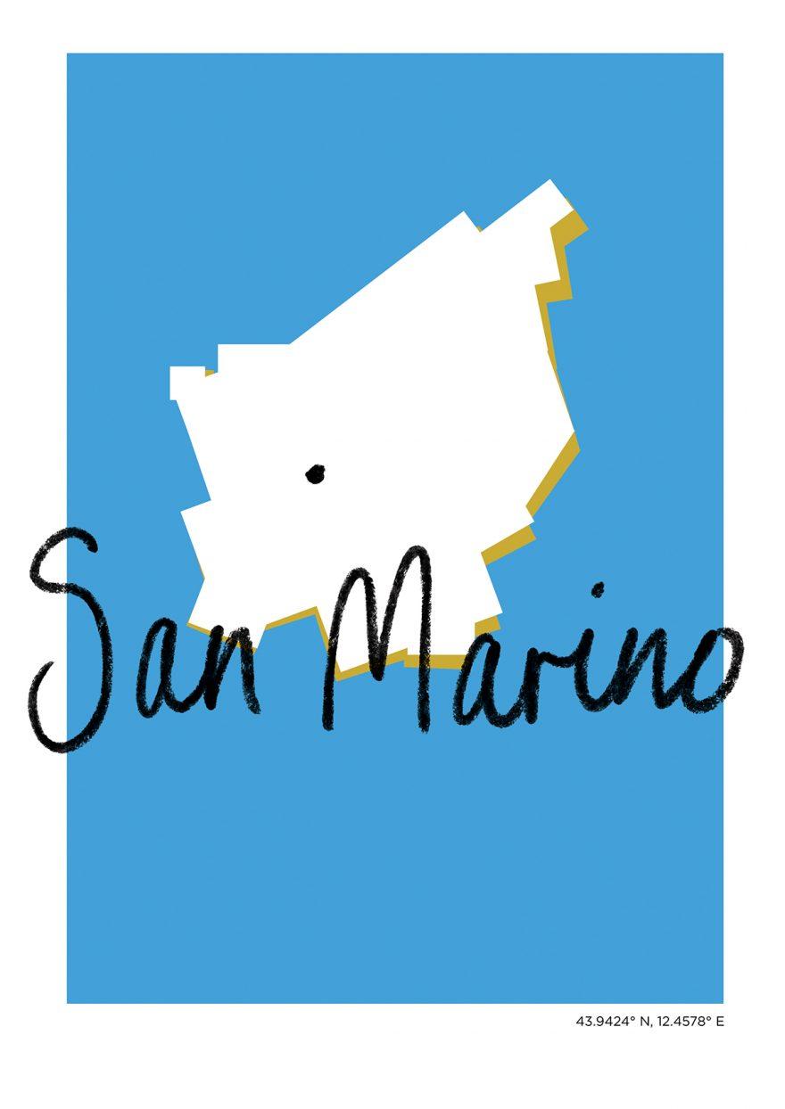 San Marino Map