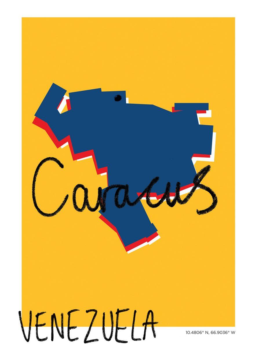Caracus Map